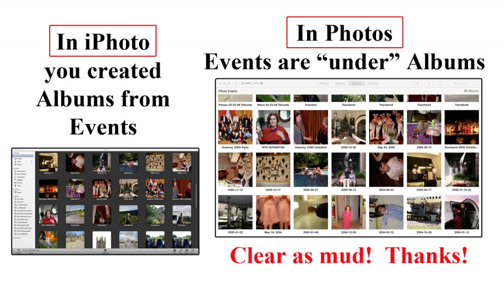events v events
